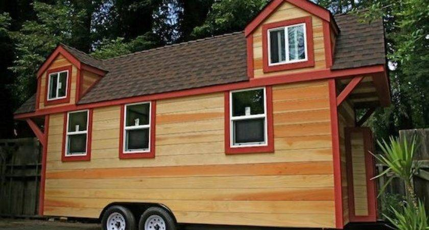 Tiny House Trailer Two Lofts Big Porch