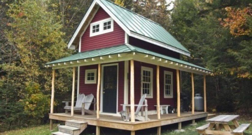 Tiny Loft Cabin Wraparound Porch
