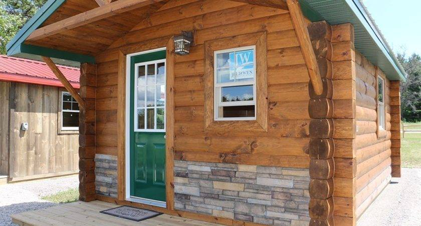 Tiny Rustic Cabins Catching Woodhaven