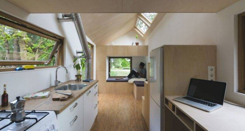 Tiny Self Sufficient House Built Netherlands