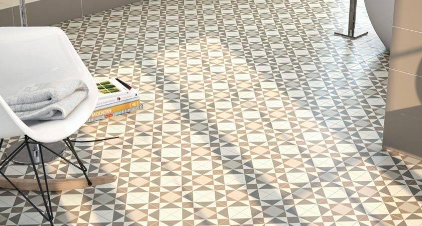 Tips Buying Patterned Bathroom Floor Tiles Saura