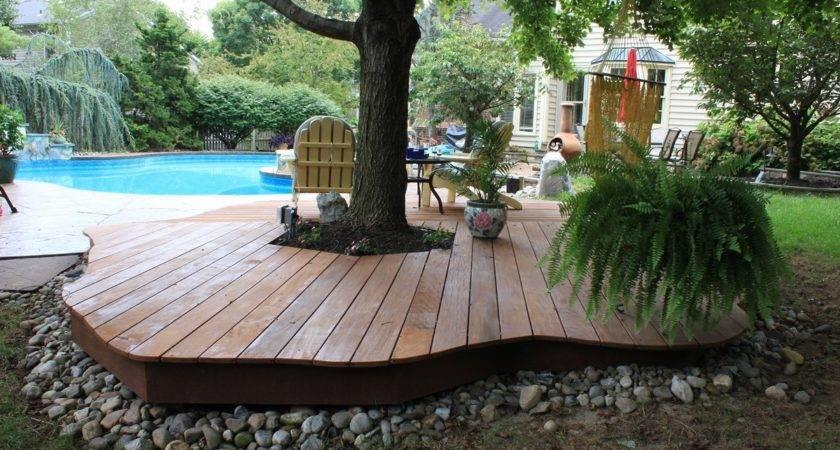 Tips Enchanting Outdoor Patio Design Ground Level