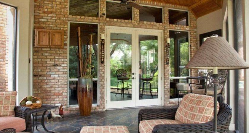 Tips Ideal Enclosed Porch Designs