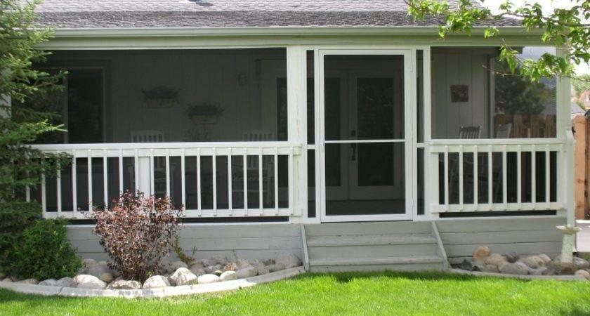 Tips Install Enclosed Screen Porch