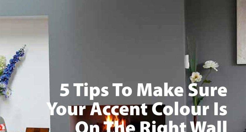 Tips Make Sure Your Accent Color Right Wall