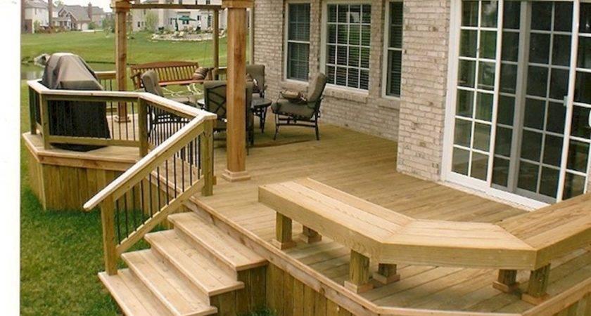 Tips Start Building Backyard Deck Pinterest