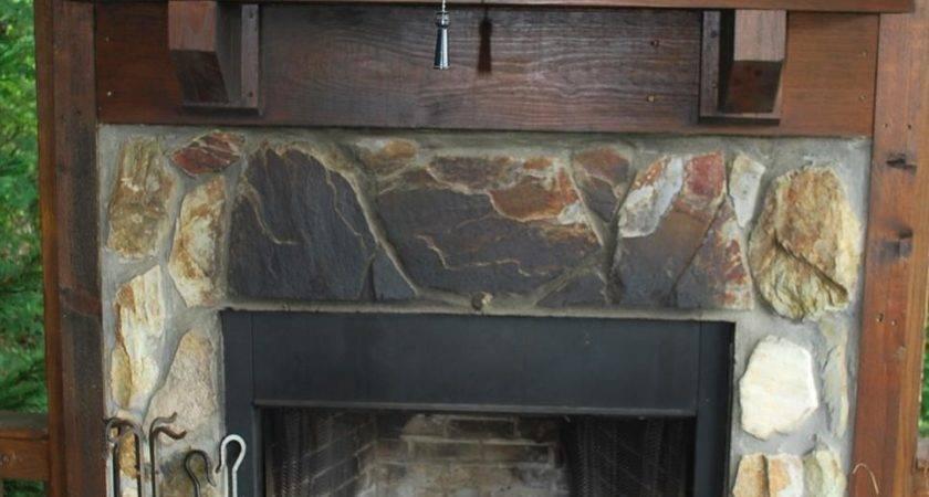 Tips Updating Outdoor Fireplace Hgtv