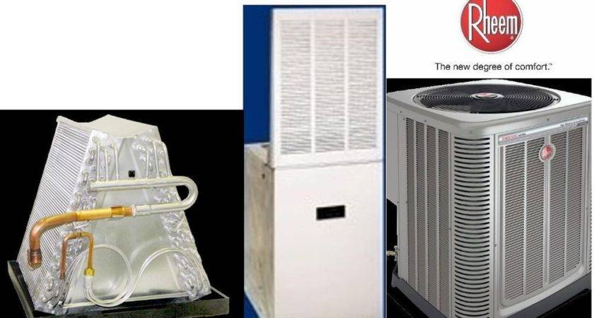 Ton Seer Mobile Home Heat Pump System