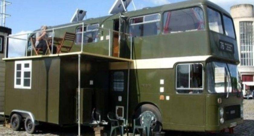 Top Double Decker Bus Motorhome Conversions Rvshare