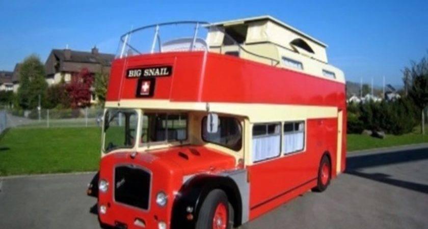 Top Double Decker Bus Motorhome Conversions