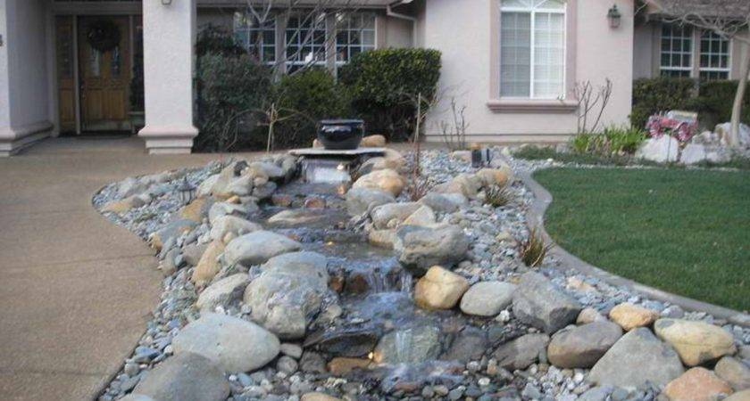 Top Front Yard Landscaping Ideas Rocks Jbeedesigns