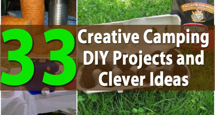 Top Most Creative Camping Diy Projects Clever Ideas
