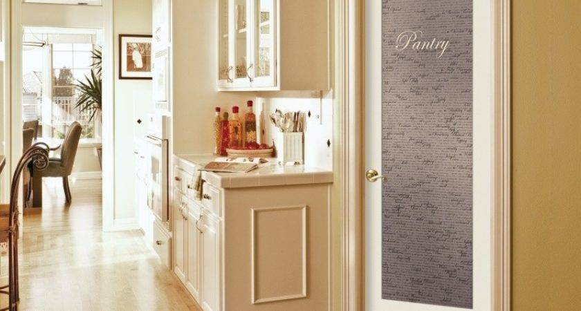 Top Notch Prehung Glass Door Pantry