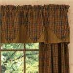 Top Risks Primitive Country Kitchen Curtains