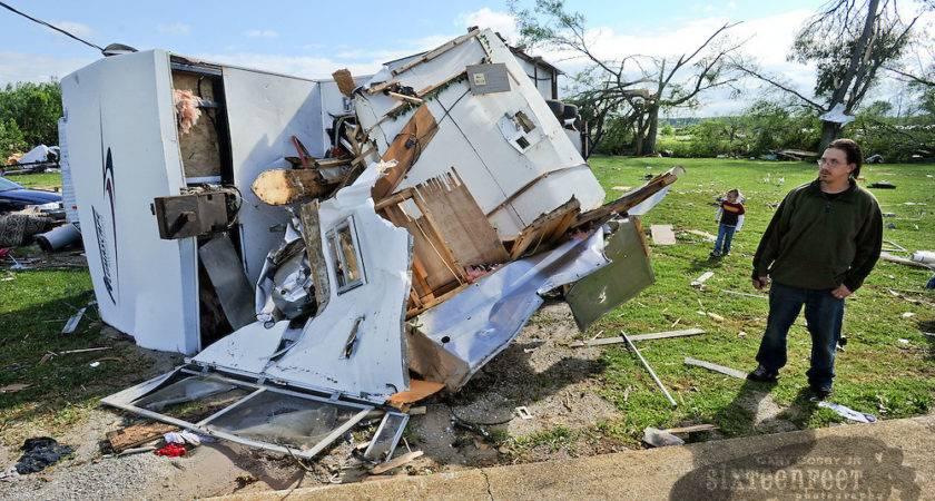 Tornado Destroys Mobile Home Park Gary Cosby