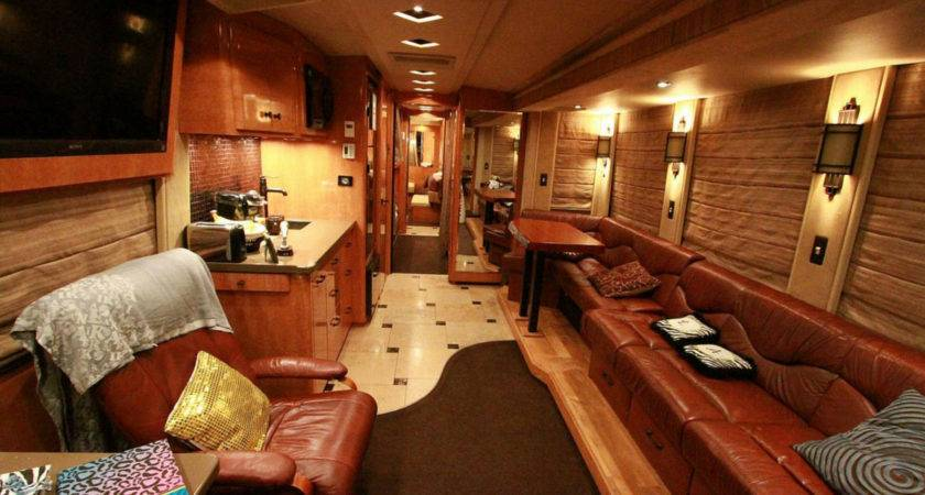 Tour Bus Interior Design Take Peak Inside Gary Allans