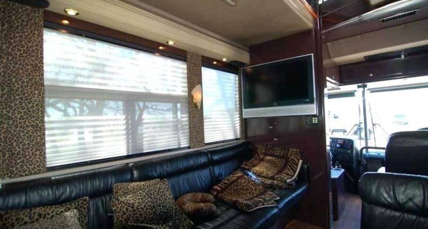 Tourist Bus Interior Den Tour