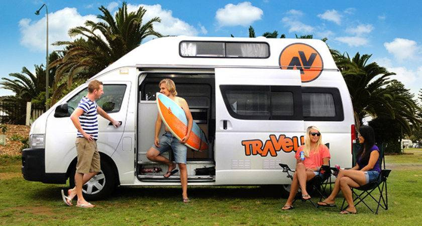 Toyota Hiace Campervan Hire Travellers Autobarn