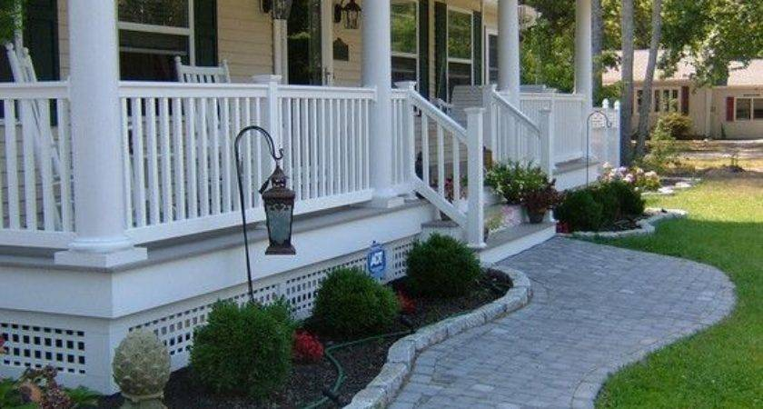 Traditional Exterior Front Porch Design Remodel