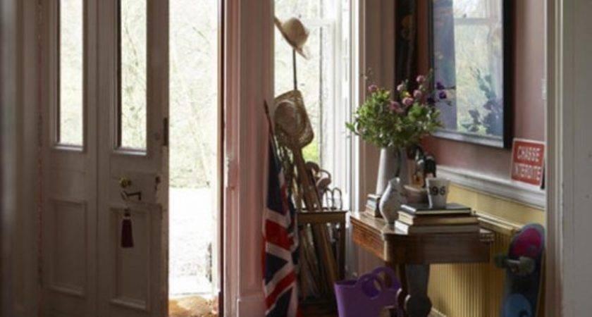 Traditional Hallway Wooden Floor Ideas