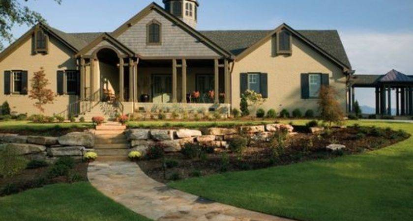 Traditional Ranch Exterior Remodeling Home Design