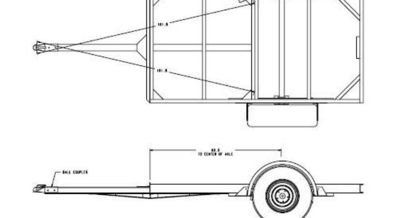 Trailer Building Plans Boat Bed