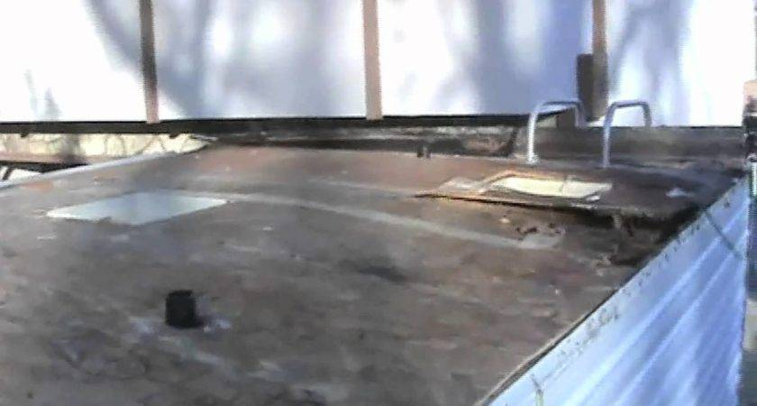 Trailer Roof Replacement Youtube