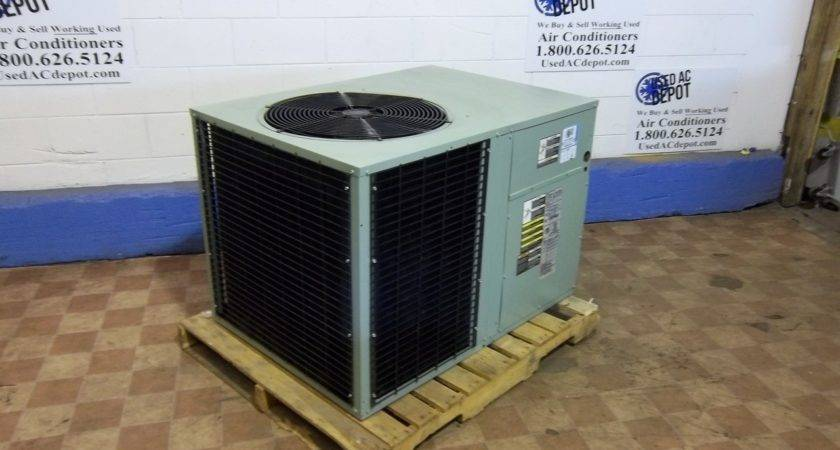Trane Used Central Air Conditioner Package Tck