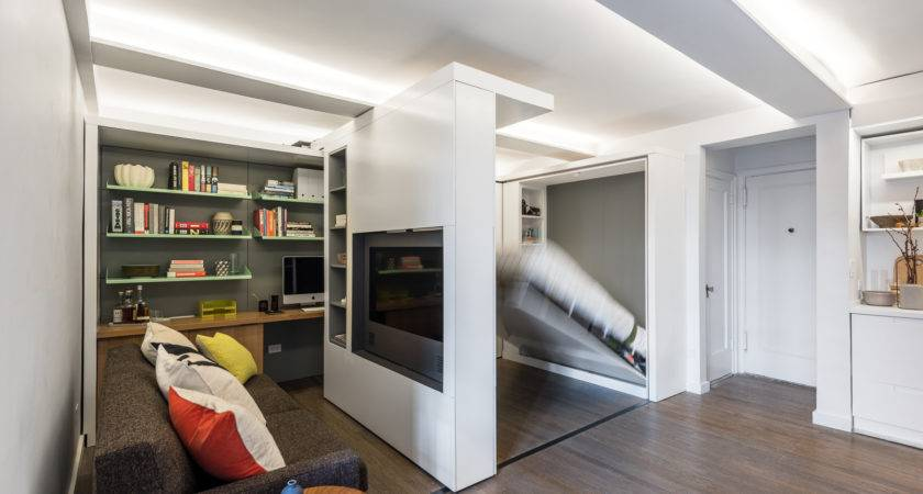 Transformer Apartment Does More Less