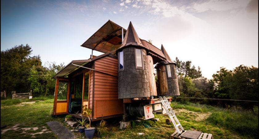 Transforming Castle Truck Living Big Tiny House