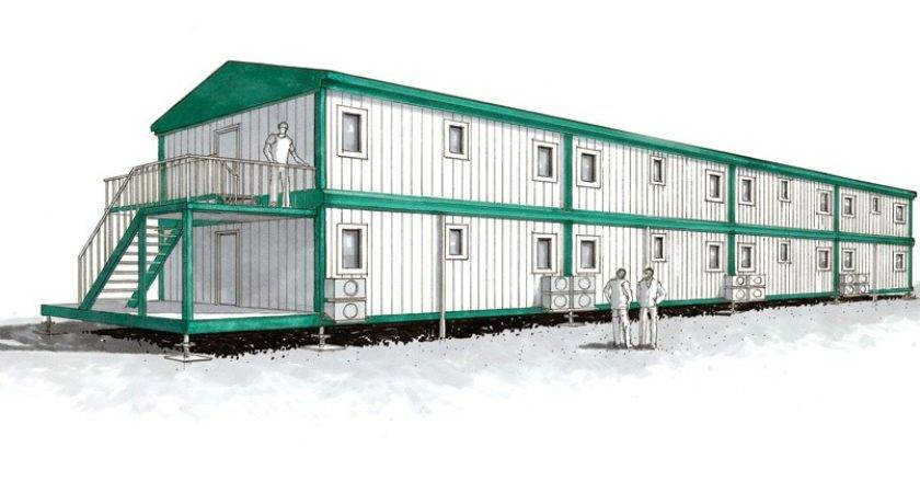 Transpack Cabin Stacked Mobile Park Homes