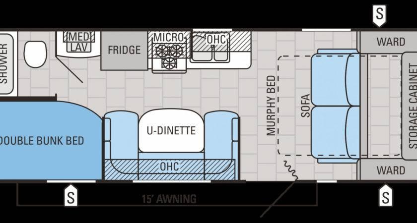 Travel Trailer Bunkhouse Floor Plans Pixshark