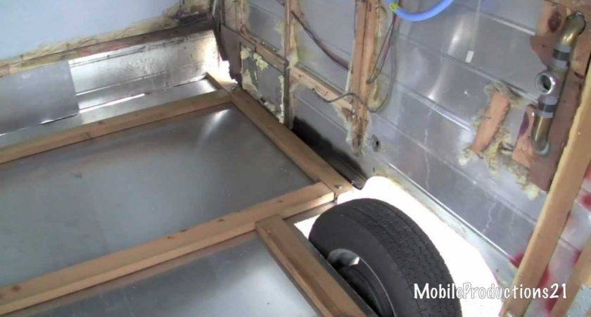 Travel Trailer Floor Replacement Youtube