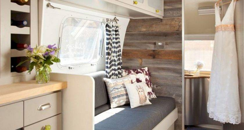 Travel Trailer Interior Design Ideas Spaces