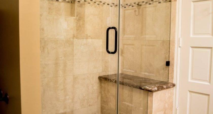 Travertine Tub Shower Conversion West Lake Hills