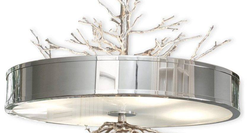 Tree Branch Light Fixture Modern Led Large
