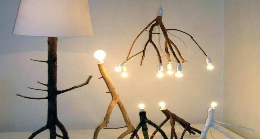Tree Branch Light Fixture Modest Ideas