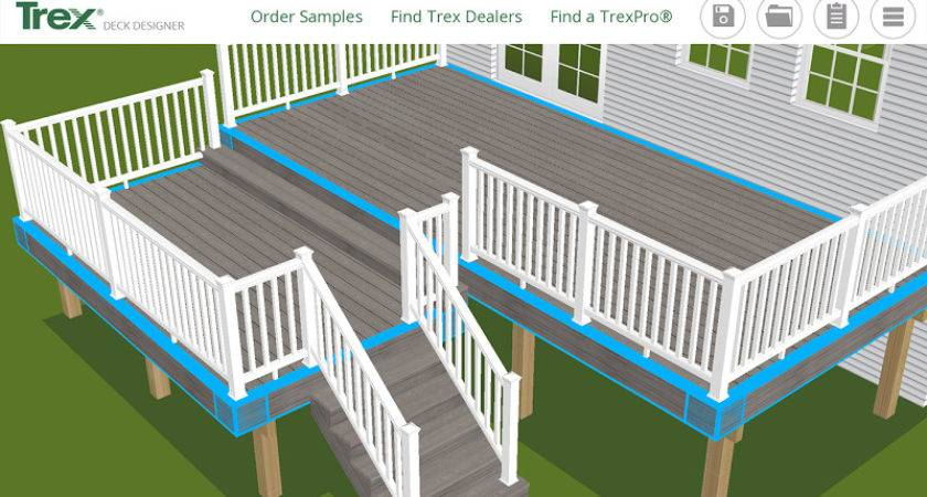 Trex Deck Designer Diyonline Tool