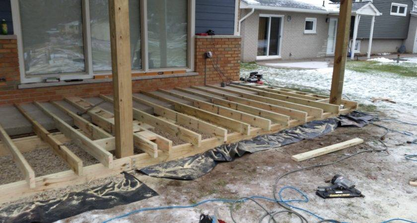 Trex Front Porch Isq Carpentry