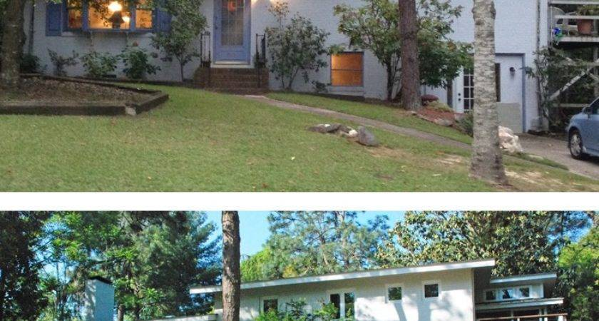 Tri Level House Remodel Before After Plan