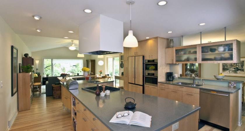 Tri Level Transformed Kitchen Contemporary