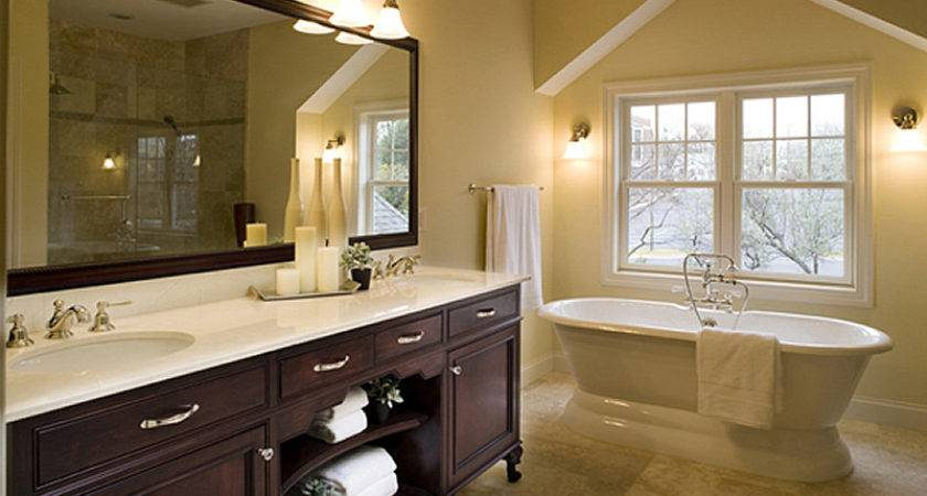 Triangle Bathroom Remodeling Design