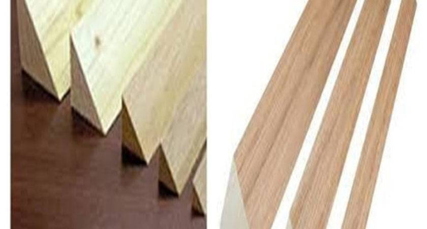 Triangle Wood Strips Timber Battens Chamfer