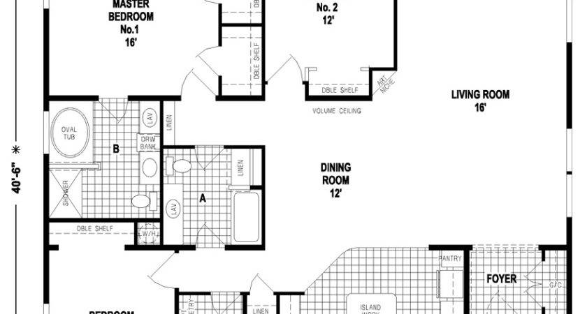 Triple Wide Floor Plans Mobile Homes Factory