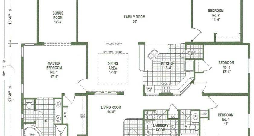 Triple Wide Manufactured Homes Floor Plans Awesome