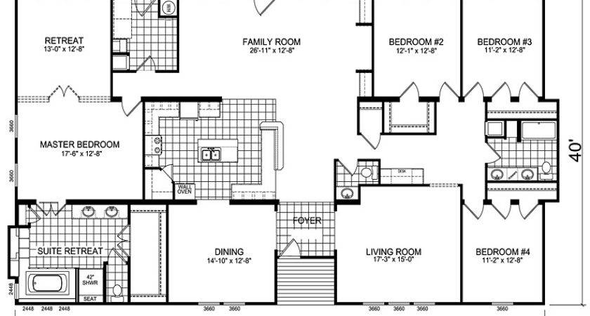 Triple Wide Mobile Homes Architecture Manufactured Home
