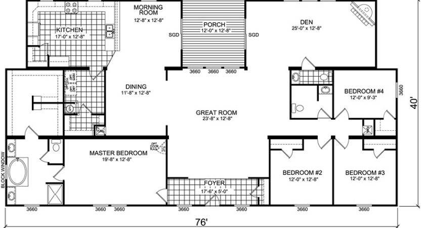 Triple Wide Mobile Homes Finding Right Interior Layout