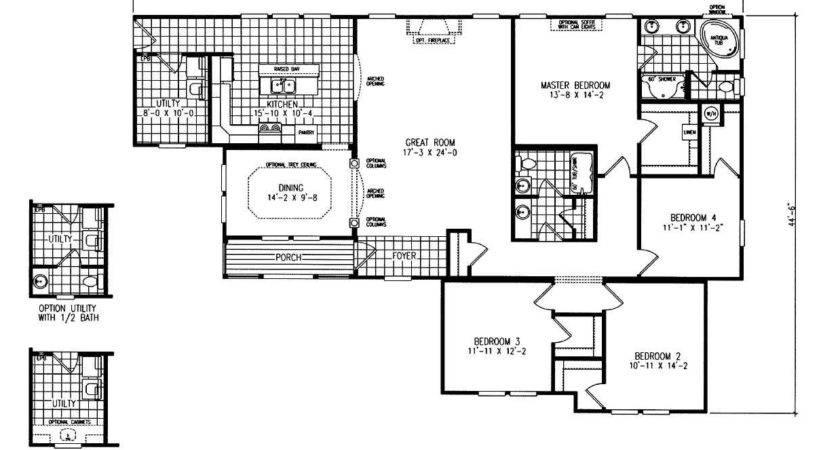 Triple Wide Mobile Homes Floor Plans New