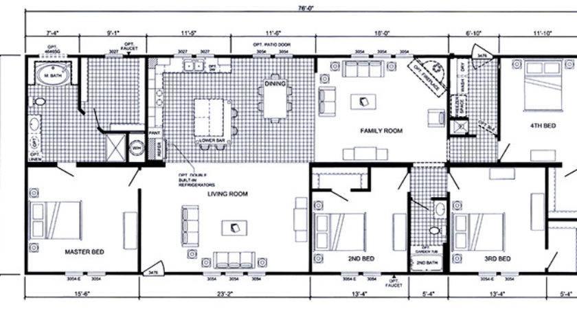 Troy Floor Plans Double Wide
