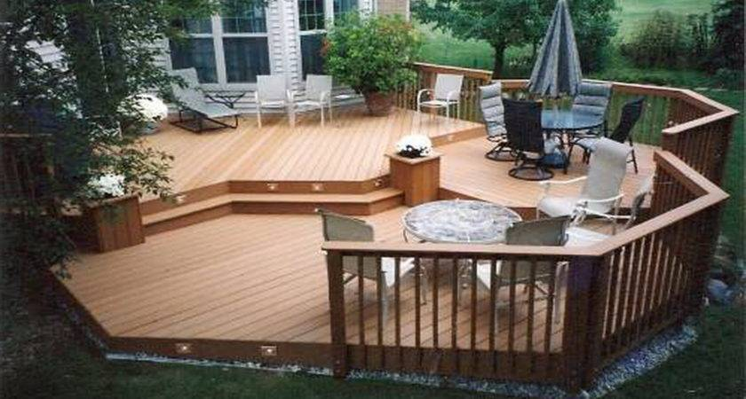 Truly Awesome Wooden Deck Designs Your Home